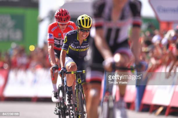 72nd Tour of Spain 2017 / Stage 15 Arrival / Christopher FROOME Red Leader Jersey / Johan Esteban CHAVES / Alcala la Real Sierra Nevada Alto Hoya de...