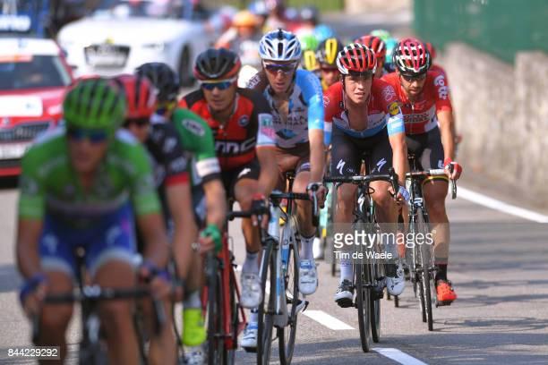 72nd Tour of Spain 2017 / Stage 19 Romain BARDET / Bob JUNGELS / Caso Parque Natural de Redes Gijon / La Vuelta /