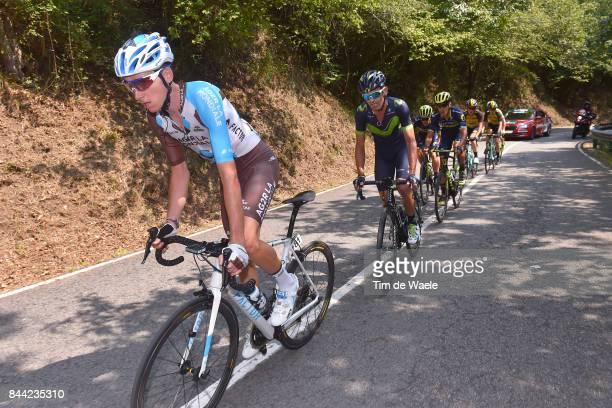 72nd Tour of Spain 2017 / Stage 19 Romain BARDET / Jose Joaquin ROJAS / Caso Parque Natural de Redes Gijon / La Vuelta /