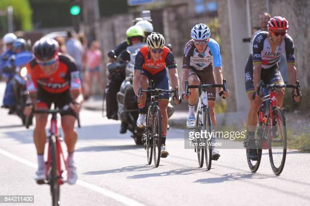 72nd Tour of Spain 2017 / Stage 19 Romain BARDET / Nicolas ROCHE / Rui FARIA DA COSTA / Ivan GARCIA CORTINA / Caso Parque Natural de Redes Gijon / La...