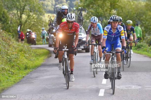 72nd Tour of Spain 2017 / Stage 20 Alberto CONTADOR / MAS NICOLAU Enric / Romain BARDET / Corvera de Asturias Alto de L'Angliru 1560m / La Vuelta /