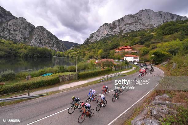 72nd Tour of Spain 2017 / Stage 20 Landscape / Nicolas ROCHE / Romain BARDET / Jaime ROSON / Adam YATES / Igor ANTON / Jan POLANC / Rui FARIA DA...