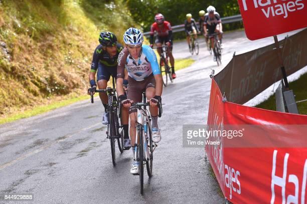 72nd Tour of Spain 2017 / Stage 20 Romain BARDET / Marc SOLER / Corvera de Asturias Alto de L'Angliru 1560m / La Vuelta /