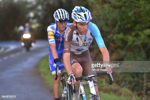 72nd Tour of Spain 2017 / Stage 20 Romain BARDET / MAS NICOLAU Enric / Corvera de Asturias Alto de L'Angliru 1560m / La Vuelta /