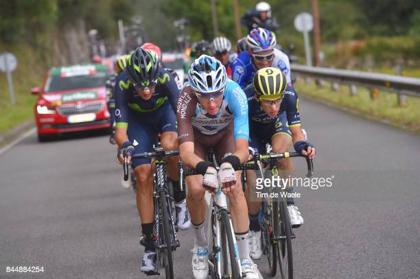 72nd Tour of Spain 2017 / Stage 20 Romain BARDET / Simon YATES / Nelson OLIVEIRA / Corvera de Asturias Alto de L'Angliru 1560m / La Vuelta /