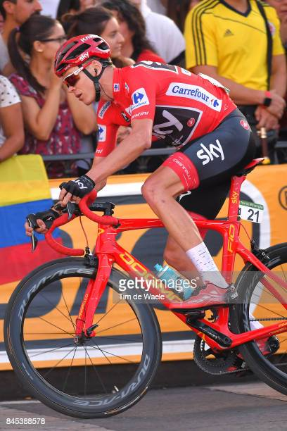 72nd Tour of Spain 2017 / Stage 21 Christopher FROOME Red Leader Jersey / Arroyomolinos Madrid / La Vuelta /