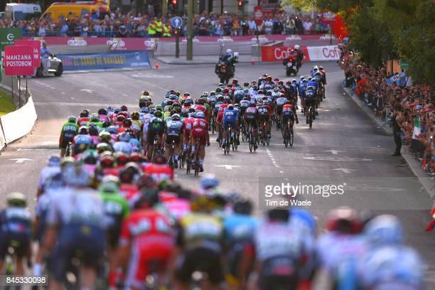 72nd Tour of Spain 2017 / Stage 21 Peloton / Arroyomolinos Madrid / La Vuelta /