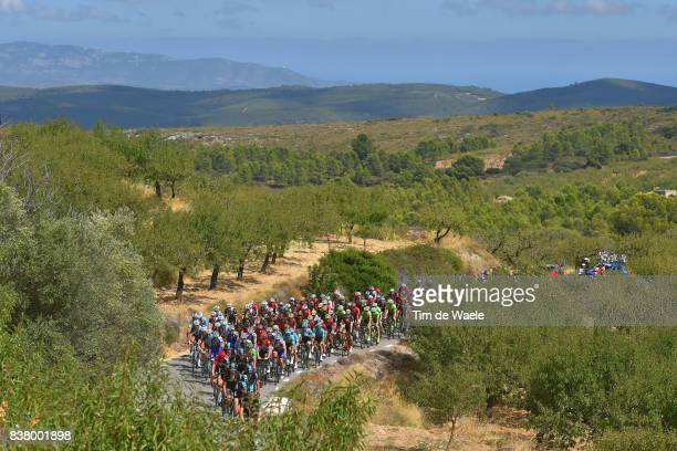 72nd Tour of Spain 2017 / Stage 5 Landscape / Peloton / Benicassim Alcossebre 340m / La Vuelta /
