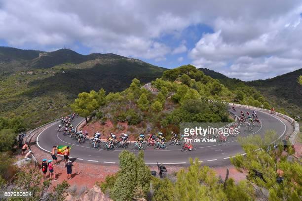 72nd Tour of Spain 2017 / Stage 5 Landscape / Peloton / Fans / Public / Mountains / Alto del Desierto de las Palmas / Benicassim - Alcossebre 340m /...