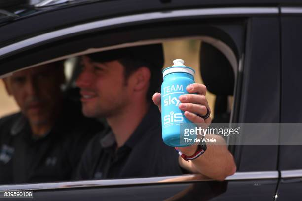 72nd Tour of Spain 2017 / Stage 8 Bottle / Team Sky / Feeding / Nicolas PORTAL Sportsdirector / Hellin Xorret de Cati Costa Blanca Interior 915m / La...