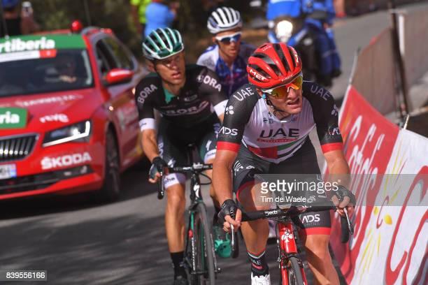 72nd Tour of Spain 2017 / Stage 8 Jan POLANC / Rafal MAJKA / Julian ALAPHILIPPE / Hellin Xorret de Cati Costa Blanca Interior 915m / La Vuelta /