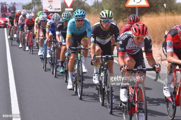 72nd Tour of Spain 2017 / Stage 8 Jan POLANC / Serge PAUWELS / Laurens DE VREESE / Hellin Xorret de Cati Costa Blanca Interior 915m / La Vuelta /