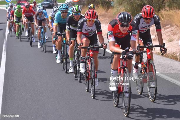72nd Tour of Spain 2017 / Stage 8 Loic VLIEGEN / Przemyslaw NIEMIEC / Jan POLANC / Serge PAUWELS / Hellin Xorret de Cati Costa Blanca Interior 915m /...