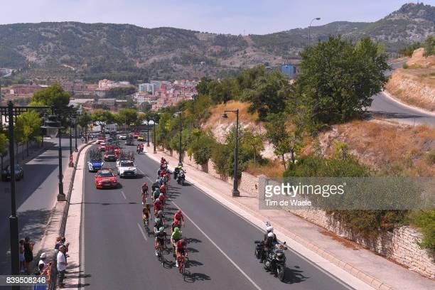 72nd Tour of Spain 2017 / Stage 8 Nelson OLIVEIRA / Jan POLANC / Rafal MAJKA / Emanuel BUCHMANN / Bart DE CLERCQ / Maxime MONFORT / Clement CHEVRIER...