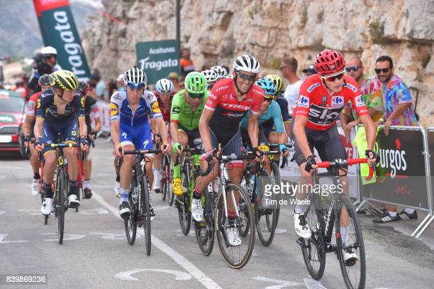 72nd Tour of Spain 2017 / Stage 9 Christopher FROOME Red Leader Jersey / Alberto CONTADOR / Michael WOODS / David DE LA CRUZ / Jack HAIG / Orihuela...