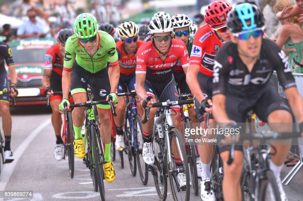 72nd Tour of Spain 2017 / Stage 9 Christopher FROOME Red Leader Jersey / Alberto CONTADOR / Michael WOODS / Orihuela Ciudad del Poeta Miguel...