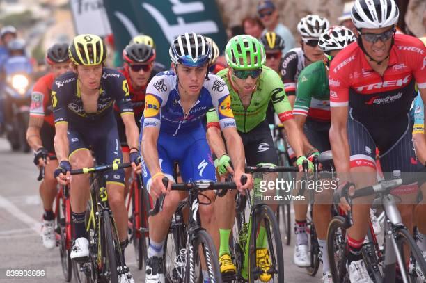 72nd Tour of Spain 2017 / Stage 9 David DE LA CRUZ / Jack HAIG / Alberto CONTADOR / Michael WOODS / Orihuela Ciudad del Poeta Miguel Hernandez Cumbre...