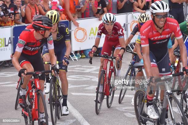 72nd Tour of Spain 2017 / Stage 9 Ilnur ZAKARIN / Tejay VAN GARDEREN / Alberto CONTADOR / Jack HAIG / Orihuela Ciudad del Poeta Miguel Hernandez...