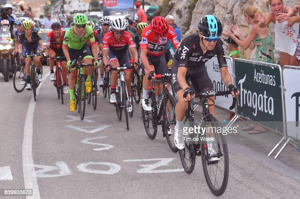 72nd Tour of Spain 2017 / Stage 9 Mikel NIEVE ITURALDE / Christopher FROOME Red Leader Jersey / Alberto CONTADOR / Michael WOODS / Orihuela Ciudad...