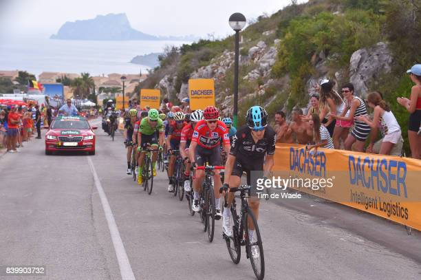72nd Tour of Spain 2017 / Stage 9 Mikel NIEVE ITURALDE / Christopher FROOME Red Leader Jersey / Alberto CONTADOR / Vincenzo NIBALI / Michael WOODS /...