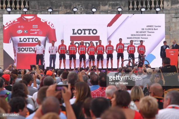 72nd Tour of Spain 2017 / Team Presentation Team Lotto Soudal / Sander ARMEE / Bart DE CLERCQ / Thomas DE GENDT / Jens DEBUSSCHERE / Tomasz...