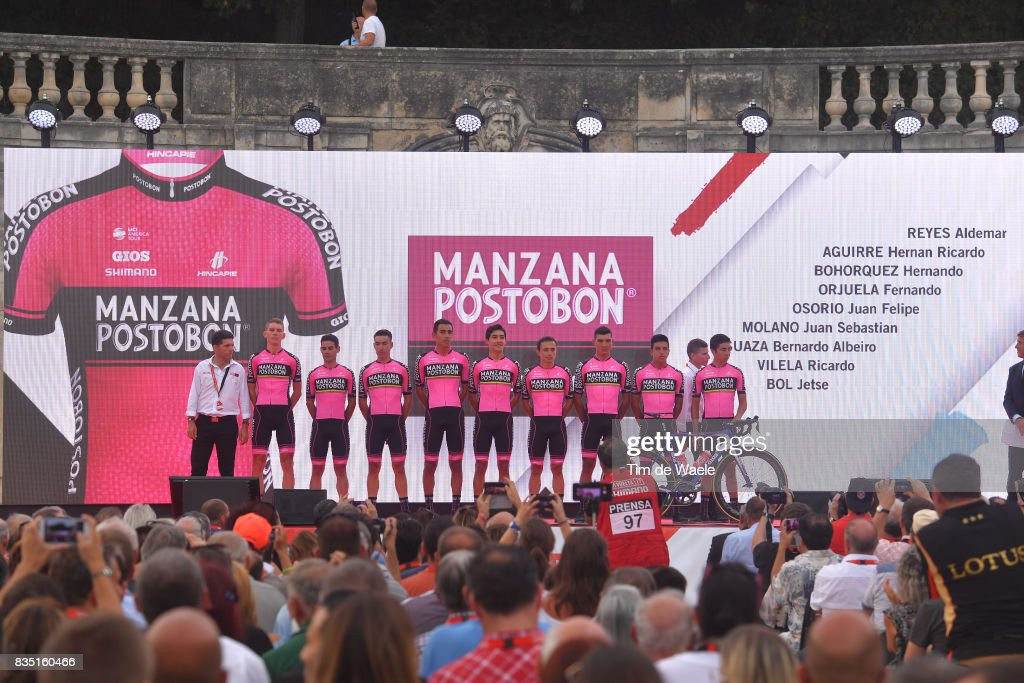 Cycling: 72nd Tour of Spain 2017 / Team Presentation : News Photo