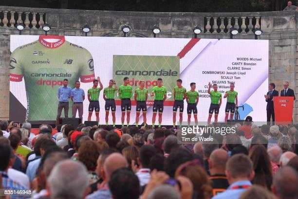 72nd Tour of Spain 2017 / Team Presentation Team CannondaleDrapac Pro Cycling Team / Michael WOODS / Brendan CANTY / Simon CLARKE / Joe DOMBROWSKI /...