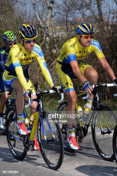 72Th Paris Nice 2014 Stage 4 Sorensen Chris Anker / Rovny Ivan / Nevers Belleville / Pn Etape Rit Parijs / Tim De Waele
