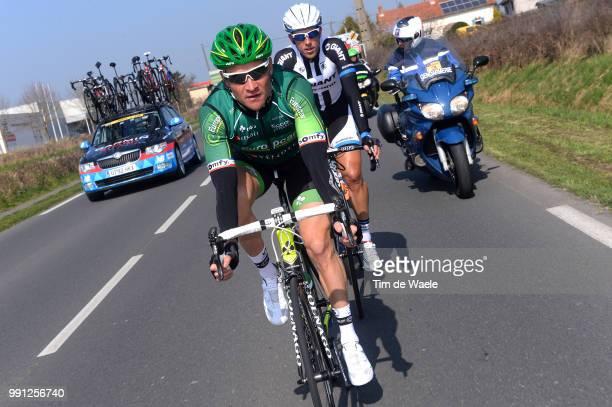 72Th Paris Nice 2014 Stage 4 Voeckler Thomas / Nevers Belleville / Pn Etape Rit Parijs / Tim De Waele