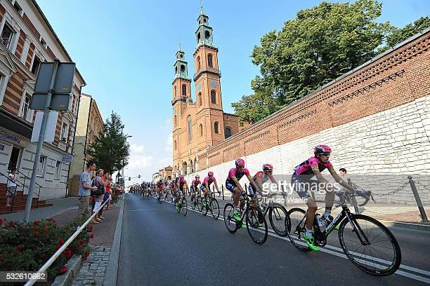 72th Tour of Poland 2015/ Stage 3 Illustration Illustratie/ Peloton Peleton/ City Village/ Church Eglise Kerk/ Zawiercie-Katowice / Tour de Pologne...