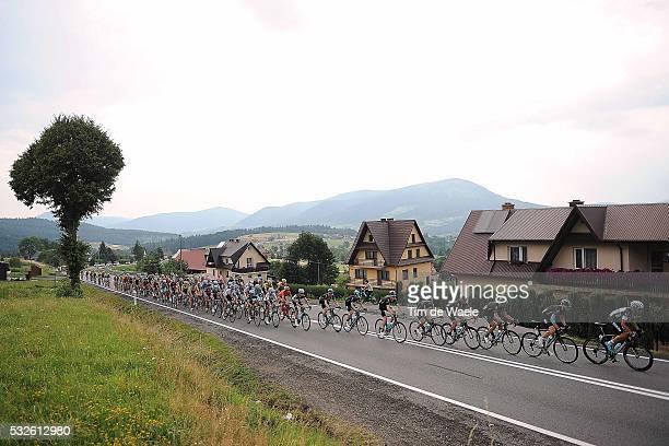 72th Tour of Poland 2015/ Stage 4 Illustration Illustratie/ Peloton Peleton/ Landscape Paysage/ Country/ Jaworzno - Nowy Sacz / Tour de Pologne Ronde...
