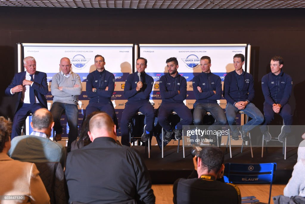 73rd Omloop Het Nieuwsblad 2018 - Quick-Step Floors Press Conference
