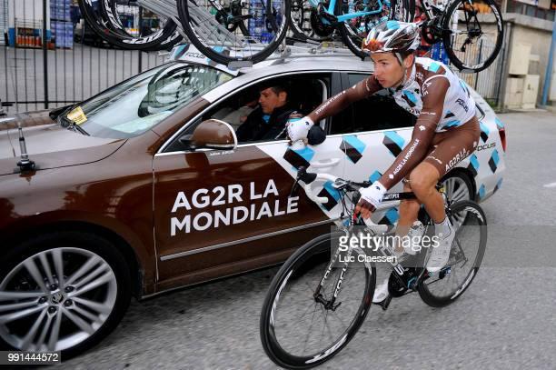 73Th Paris Nice 2015 Stage 6/Cherel Mikael Car Voiture Auto Team Ag2R La Mondiale /Vence Nice / Pn Etape Rit Parijs / Tim De Waele