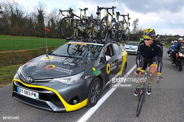 74Th Paris Nice 2016 Stage 2/ Chavanel Sylvain Car Voiture Auto Contres Commentry / Pn Etape Rit / Tim De Waele