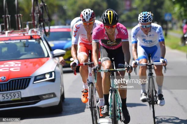 74th Tour of Poland 2017 / Stage 2 Adrian KUREK / Martijn KEIZER Pink Mountain Jersey / Joonas HENTTALA / Car / Tarnowskie Gory Katowice / TDP / Tour...