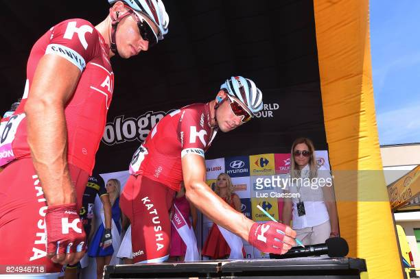 74th Tour of Poland 2017 / Stage 3 Maxim BELKOV / Simon SPILAK / Jaworzno Szczyrk 643m / TDP / Tour de Pologne /