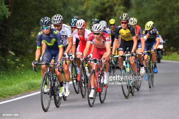74th Tour of Poland 2017 / Stage 7 Dayer QUINTANA / Peter SAGAN White Sprint Jersey / Simon SPILAK / Bukovina Resort Bukowina Tatrzanska 954m / TDP /...