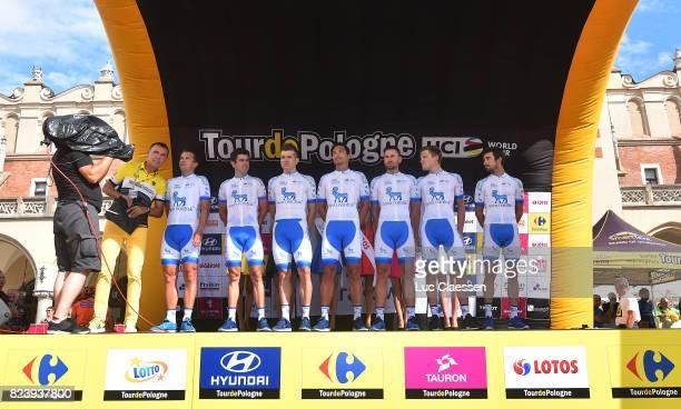 74th Tour of Poland 2017 / Team Presentation Christopher WILLIAMS / Joonas HENTTALA / David LOZANO / Javier MEGIAS / Andrea PERON / Charles PLANET /...