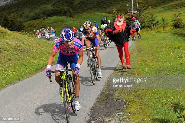 75th Tour de Suisse / Stage 3 CUNEGO Damiano / TEN DAM Laurens / Didi SENF Devil Diable Duivel / BrigGlis Grindelwald 1034m / Ronde van Zwitserland /...