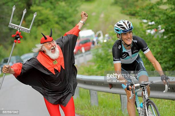 75th Tour de Suisse / Stage 7 SCHLECK Andy / Didi SENF Devil Diable Duivel / Vaduz Serfaus 1429m / Ronde van Zwitserland / Etape Rit/Tim De Waele