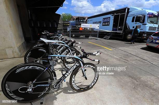 75th Tour de Suisse / Stage 9 Illustration Illustratie / Specialized TT Bike Velo Fiets / Team Saxo Bank Sungard / Time trial Contre la Montre...