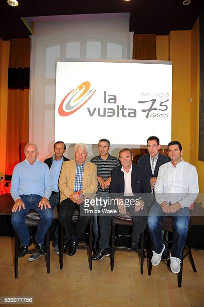 75th Tour of Spain Vuelta 2010 / Presentation ZOETEMELK / CARITOUX / POULIDOR / JALABERT / HINAULT / KELLY / OLANO / Ronde van Spanje / Presentatie /...