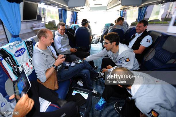 76Th Tour Of Swiss Stage 6 Helge Riepenhof Doctor Dokter Medic Dario Cataldo / Zdenek Stybar / Jan Schaffrat / On Shoes Chaussures Schoenen Team...
