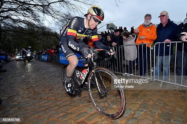 77th Gent Wevelgem 2015 DEBUSSCHERE Jens / Kemmelberg / Gent Wevelgem / Ghent Gand Flanders Classics / Tim De Waele