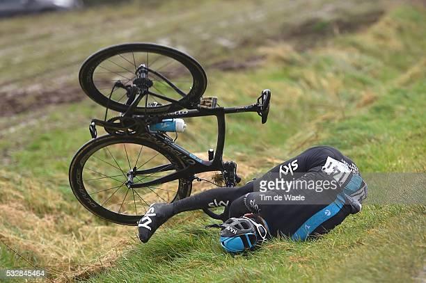 77th Gent Wevelgem 2015 THOMAS Geraint / Crash Chute Val / Gent Wevelgem / Ghent Gand Flanders Classics / Tim De Waele