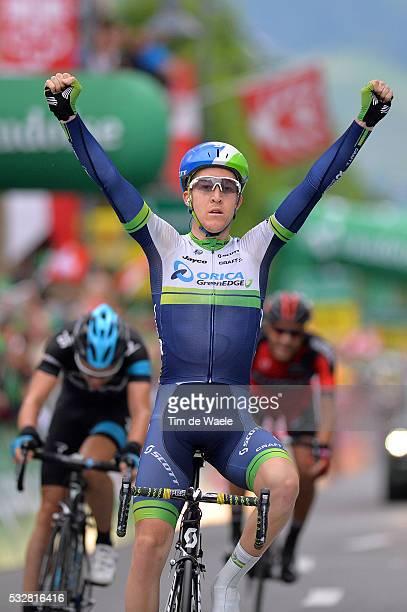 78th Tour of Swiss 2014 / Stage 2 Arrival / MEYER Cameron Celebration Joie Vreugde / DEIGNAN Philip / WARBASSE Larry / Bellinzona Sarnen / Etappe Rit...