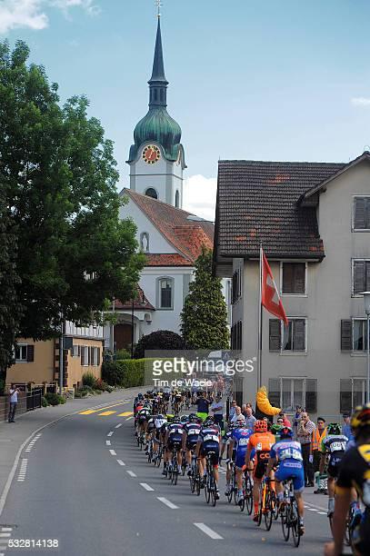 78th Tour of Swiss 2014 / Stage 3 Illustration Illustratie / INWIL City Ville Stad / Church Eglise Kerk / Peleton Peloton / Landscape Paysage...