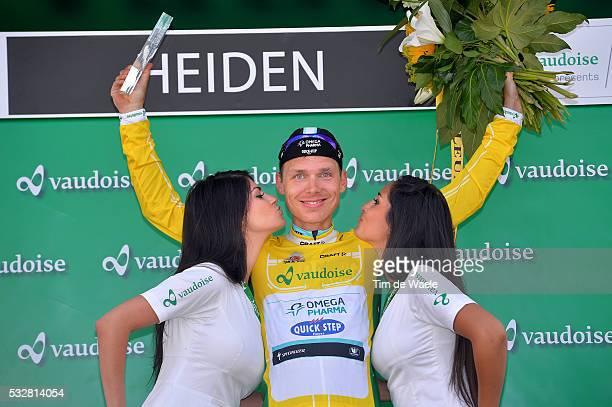 78th Tour of Swiss 2014 / Stage 3 Podium / MARTIN Tony Yellow Leader Jersey Celebration Joie Vreugde / Sarnen Heiden 808m / Etappe Rit Ronde Tim De...
