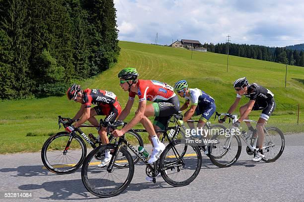 78th Tour of Swiss 2014 / Stage 3 THURAU Bjorn Red Mountain Jersey / WYSS Danilo / SCHURTER Nino / DIDIER Laurent / Sarnen Heiden 808m / Etappe Rit...