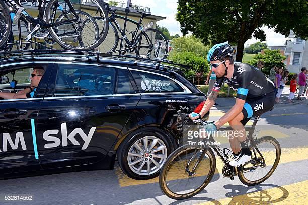 78th Tour of Swiss 2014 / Stage 3 WIGGINS Bradley / Ravitaillement Bevoorrading / Sarnen Heiden 808m / Etappe Rit Ronde Tim De Waele